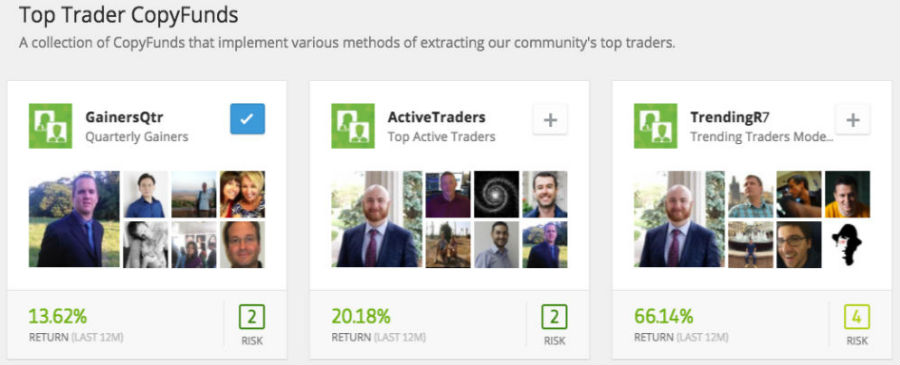 Top Trader eToro CopyFund